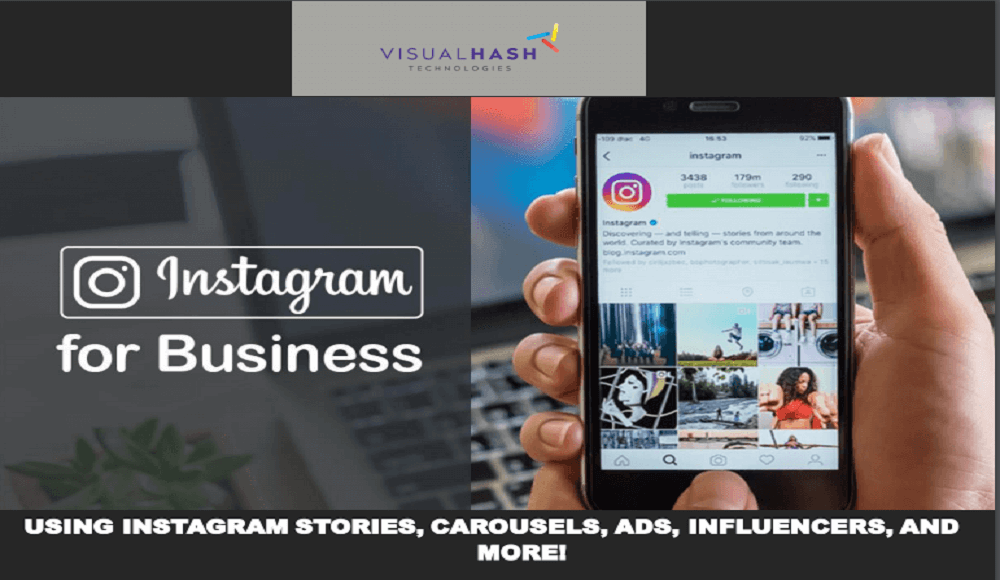instgram - for business - visualhash.tech